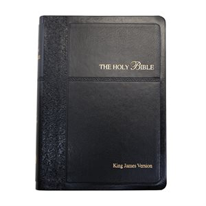 Compact King James Version Black