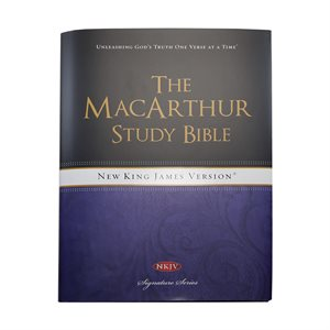The MacArthur Study Bible: New King James Version