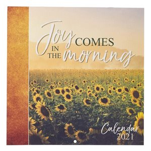 2021 Joy in the Morning Wall Calendar