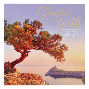 2021 Rooted in Faith Wall Calendar